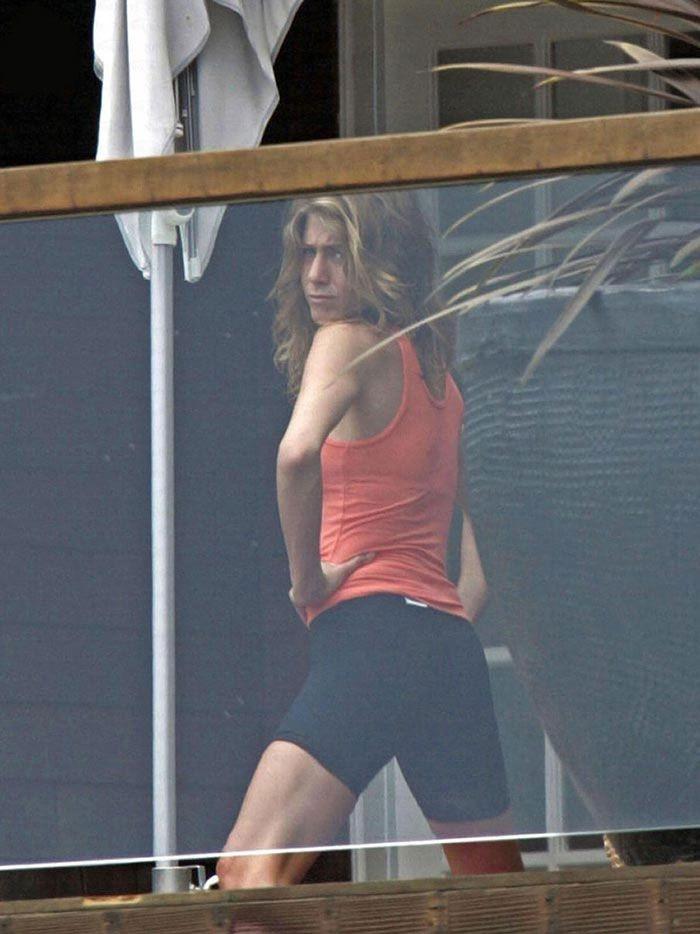 Jennifer Aniston Working Out Jennifer Aniston