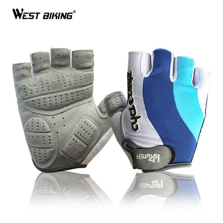 [Visit to Buy] Half Finger Cycling Gloves Antiskid 3D Gel Padded Pro Road MTB Glove Guantes Ciclismo Breathable Cycling Bicycle Bike Gloves Men #Advertisement