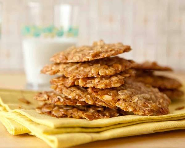 Toasting the oats adds great flavor to these simple oat cookies, sweetened with maple syrup and flavored with warm spices. Click here to see Our 50 Best Cookie Recipes