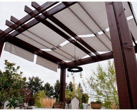 Pergola Canopy Designs And Ideas | Pergolas / Gazebo (shared via SlingPic)