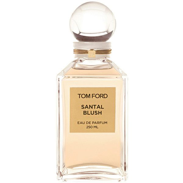Tom Ford Santal Blush Decanter Eau De Parfum 250ml ($480) ❤ liked on Polyvore featuring beauty products, fragrance, eau de parfum perfume, edp perfume, tom ford perfume, tom ford fragrance and eau de perfume
