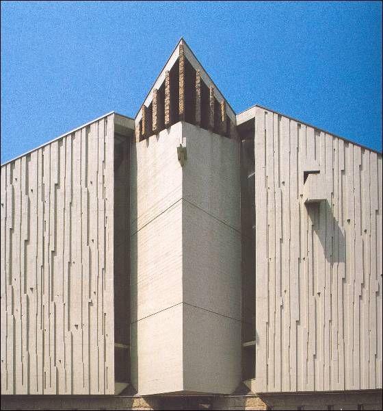 Igrexa parroquial nosa señora das Neves | Xosé Bar Bóo | Vigo (1962-1971) | Fonte: archxx-sudoe.es