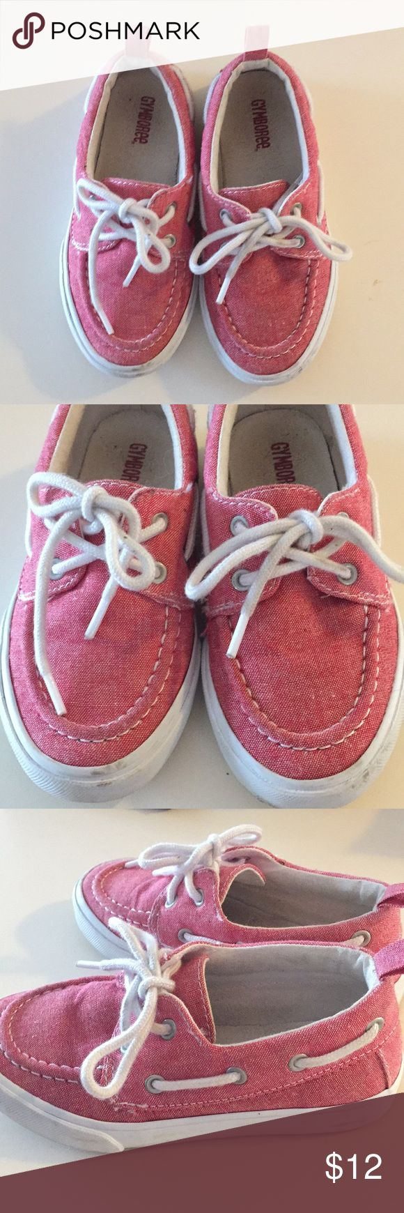 Pink boat shoes!! Super cute pink boat shoes for little boys. My son wore these once for a wedding. Got tons of compliments! Gymboree Shoes Dress Shoes