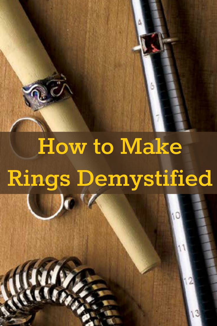 If you like making rings, then you'll LOVE these 3 FREE ring-making projects! #jewelrymaking #DIY #ringmaking