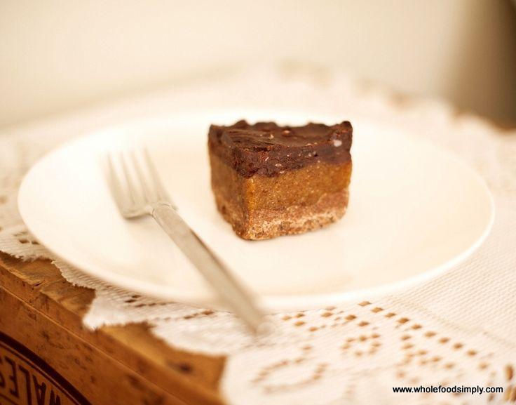 Wholefood Simply Caramel Slice