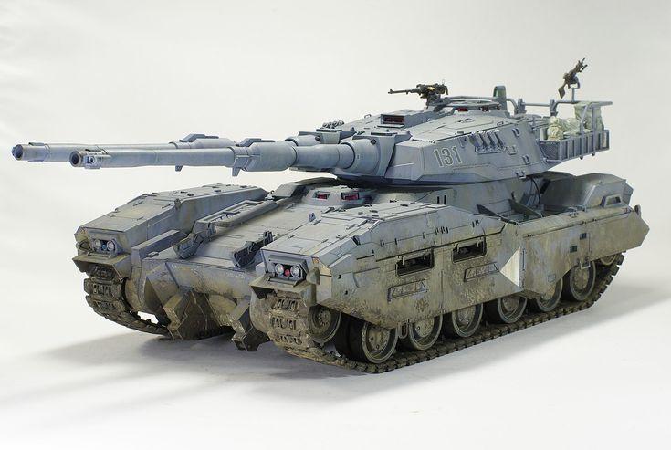 E.F.G.F M61A5 Main Battle Tank (Mobile Suit Gundam)