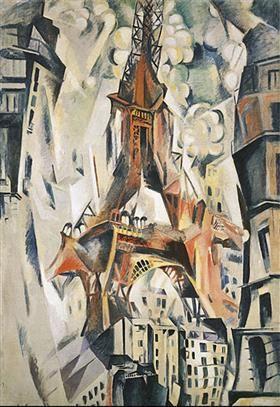 Eiffel Tower - Робер Делоне