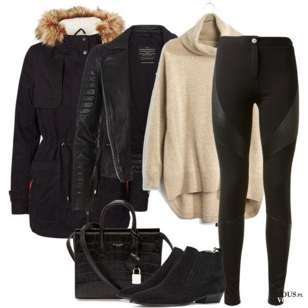 Ciepłe i modne ubrania, zimowa moda, jak wyglądać ładnie zimą, co nosić zimą