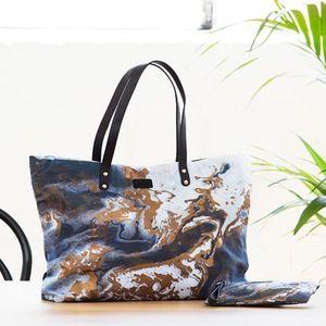 Image of Copper Night Shopper Bag