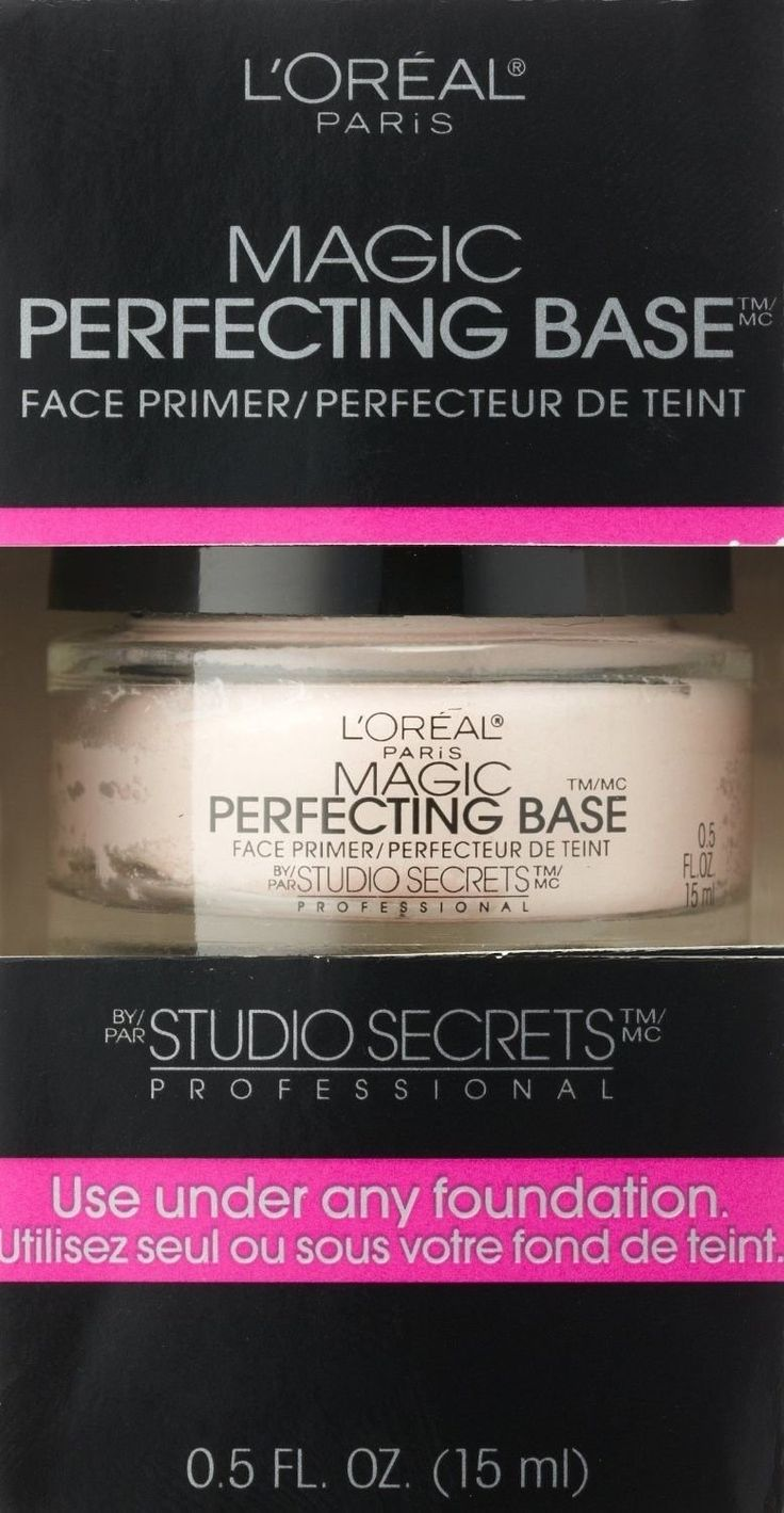Loreal Magic Perfecting Base Face Primer By Studio Secrets Professional 0.5oz (15ml) * This is an Amazon Affiliate link. You can find more details by visiting the image link.
