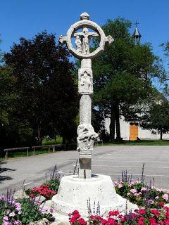 Croix du Vieux Cimetière à Châtenois (Vosges)