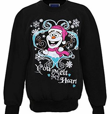 Branded Girls XMAS Festive Christmas Snowman Olaf Frozen Childrens Fleece Lined Jumper [Snowflake Black, UK  Great new Jumper - the latest trend! Product Description: This is a childrens fleece lined christmas jumper. It is available in 4 different sizes and 6 different colours (Barcode EAN = 5055926534592) http://www.comparestoreprices.co.uk/kids-clothes--girls/branded-girls-xmas-festive-christmas-snowman-olaf-frozen-childrens-fleece-lined-jumper-[snowflake-black-uk-.asp