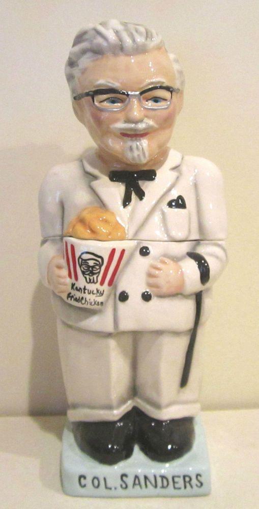 kentucky fried chicken colonel sanders cookie jar limited edition grandmas cookie jar