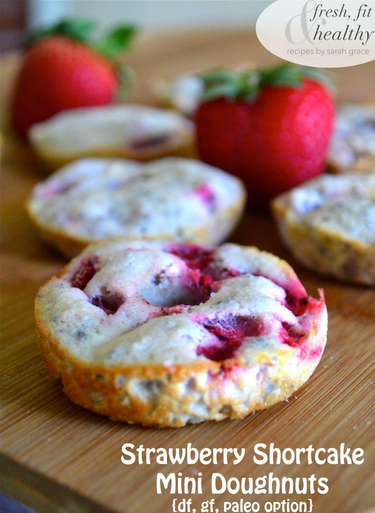 Strawberry Shortcake + Doughnuts= Pure Bliss It may be Fall, but I'm still loving my fresh...