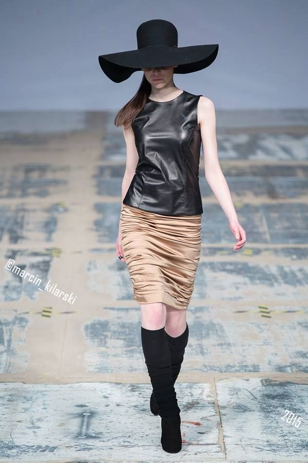 Champagne Skirt, Blackmail Leather Top