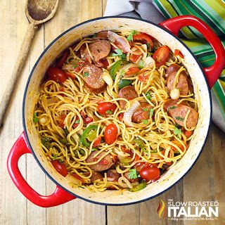 The Slow Roasted Italian - Printable Recipes: One Pot Mexican Pasta and Sausage