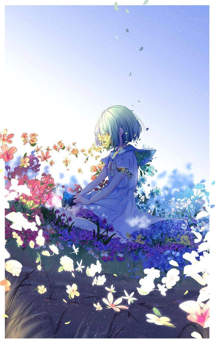 flowers by lluluchwan