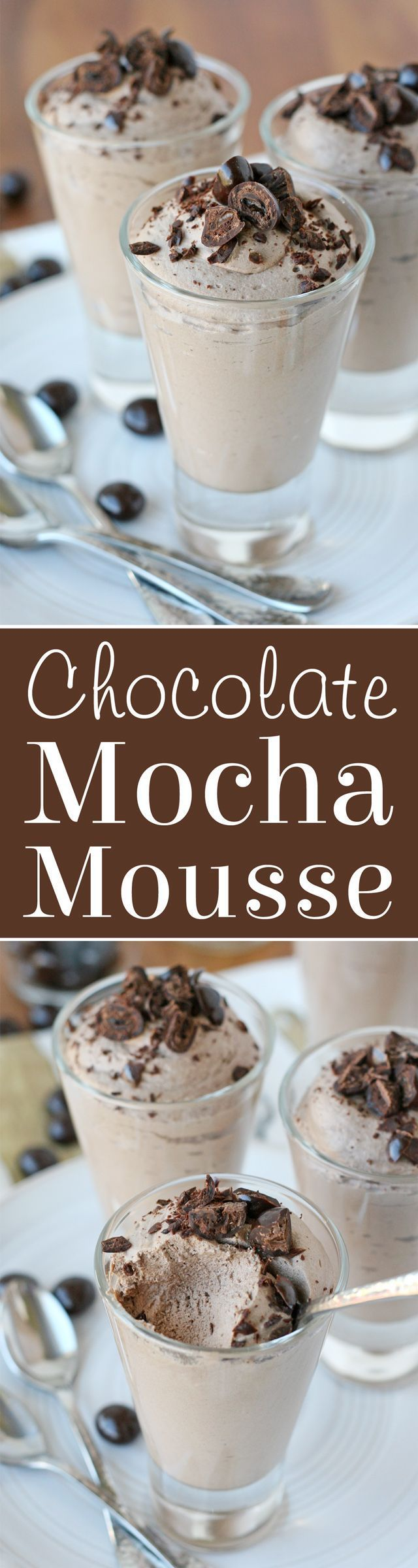 Chocolate Mocha Mousse
