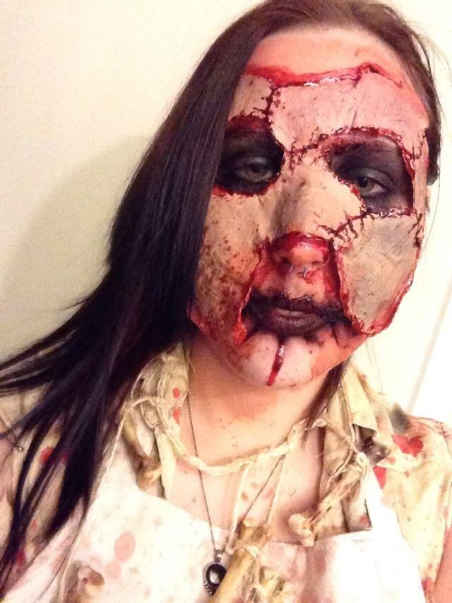 #HalloweenTip Female Leatherface Costume #Various #Trusper #Tip