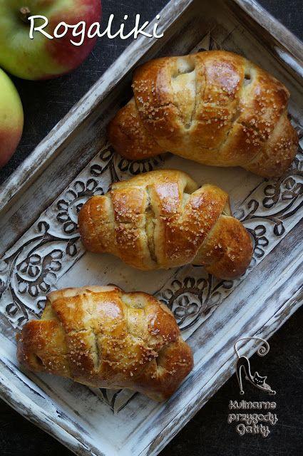 Kulinarne przygody Gatity: Rogaliki z jablkami