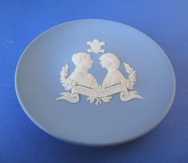 Charles & Diana Royal Wedding Vintage Wedgwood Collector Plate Made In England
