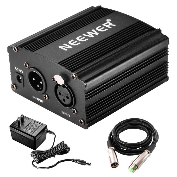 >> Click to Buy << Neewer 1- Channel 48V Phantom Power Supply with Adapter and XLR Audio Cable for Condenser Microphone Music Recording Equipment #Affiliate