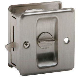 "View the Schlage 991 Privacy Pocket Door Lock 1-3/4"" x 2-1/4"" at Build.com."
