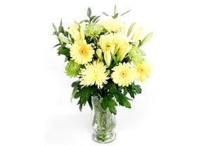 Greens and Gold Bouquet Location: Delivered UK wide http://www.comparestoreprices.co.uk/flowers-and-flower-delivery/greens-and-gold-bouquet.asp