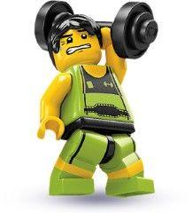 8684-10: Weightlifter
