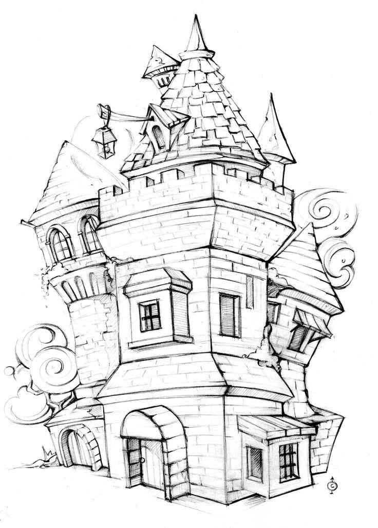 The tower - coins suite Art by Chiara Vercesi