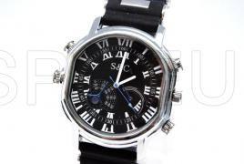 Relógio da câmera com pulseira de borracha