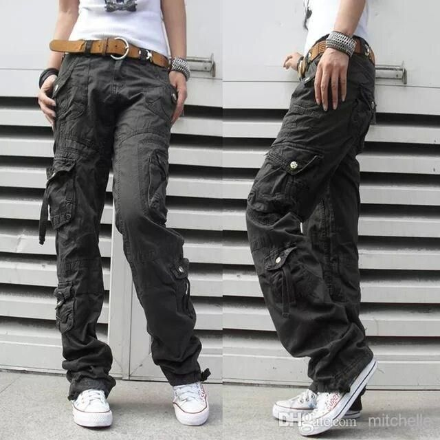 Women's Winter Thick Pants Womens Army Fatigue Pants Camouflage Cargo Pants Hip Hop Harem Baggy Pants Multi Pocket Trousers 18 Online with $28.02/Piece on Mitchelle's Store | DHgate.com