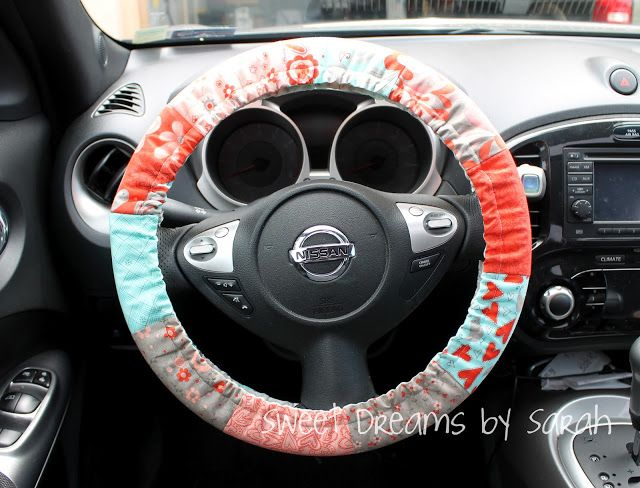 Moda Bake Shop Gift Padded Steering Wheel Cover