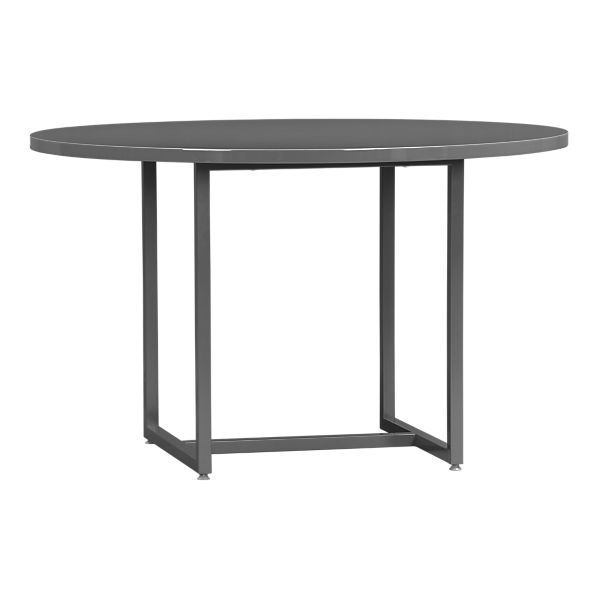 Walker48RndDngTblSlate3QS11: Contemporary Dining, Kitchens Tables, Ii Slate, Meeting Tables, Crates Contemporary, Round Dining Tables, Crates And Barrels, Round Tables, Slate Dining