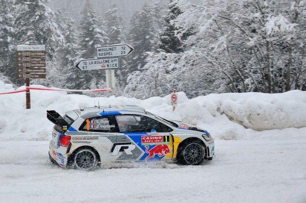 WRC 2014. SEBASTIEN OGIER REMPORTE LE MONTE CARLO. ET DOUBLE FRANCAIS GRACE A BOUFFIER