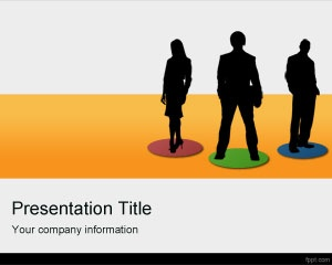 Global Team PowerPoint template is a free PPT template background for global teams or virtual team online