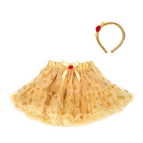 Belle Tutu And Accessory Set For Kids, Beauty And The Beast
