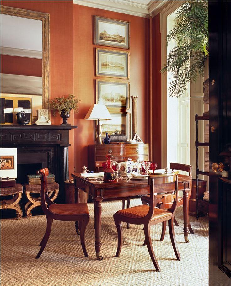 76 best images about all things burnt orange on pinterest for Burnt orange dining room