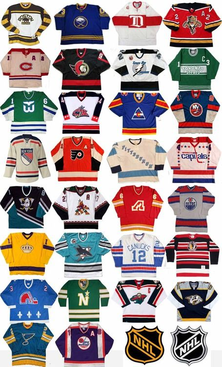 NHL Original Jerseys
