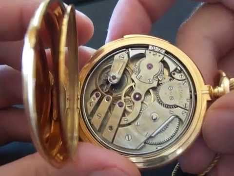Patek Philippe pocket rose gold repeater review