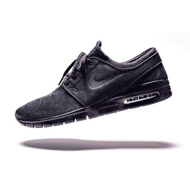 Nike Sb Janoski Max Black Pine Green