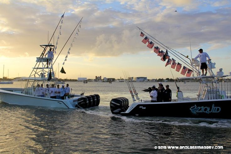 Top SeaVee teams Boats fishing tournament