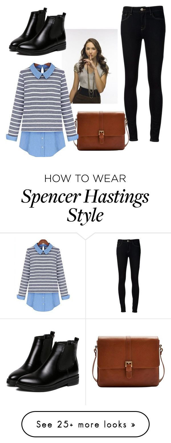 """PLL Spencer Hastings outfit"" by stellyfashionista on Polyvore featuring Ström and Joules                                                                                                                                                     More"