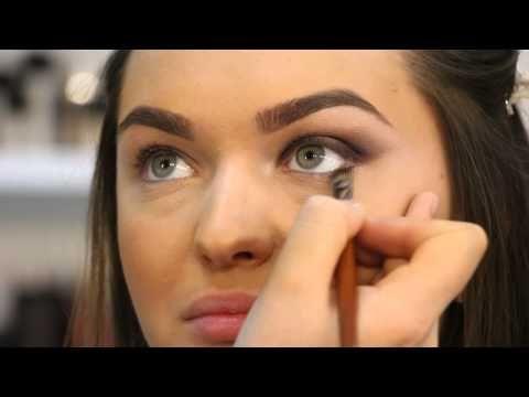 Arabic Make Up in Neutral Colours \ Арабский макияж в нейтральных тонах - YouTube