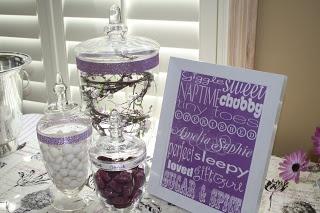 The Petite Parisian: A Lavender Baby Shower for Stephanie and Amelia