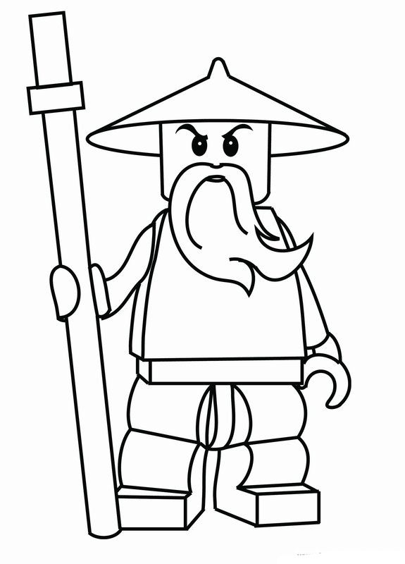 49 best Kai \ William Coloring images on Pinterest Lego ninjago - new easy lego coloring pages