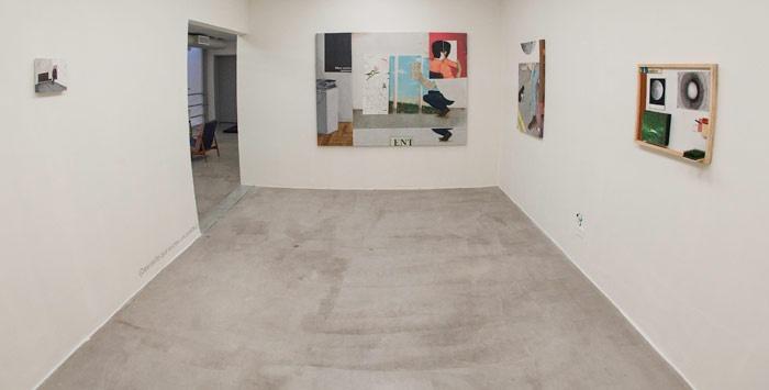 Bruno Kurru  Vista da exposição O Ser, Como Meta na Zipper Galeria, São Paulo