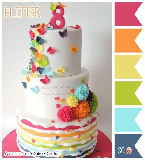 Flitter - Color Palette  http://inspiresweetness.blogspot.com