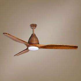 Ventilador de techo con luz LED Maverick