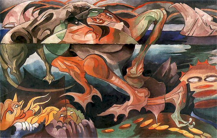 Topielice (spirits of water), 1921